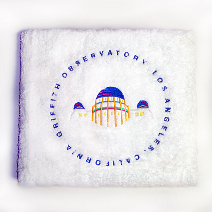 Griffith Obervatory Bath Towel
